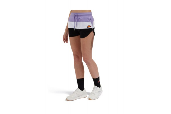 ELLESSE STEFANI FLEECE SHORT SGE04450-PURPLE Μωβ
