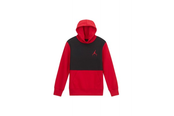 JORDAN JUMPMAN AIR FLEECE PO 957610-KR5 Κόκκινο