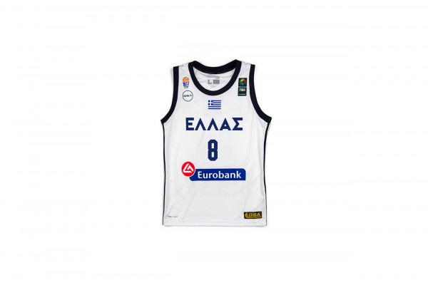 GSA GAME SHIRT OFFICIAL UNIFORM KID-8 CALATHES 17-93065-WHITE Λευκό