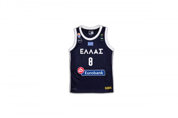 GSA GAME SHIRT OFFICIAL UNIFORM KID-8 CALATHES 17-93065-INK Μπλε