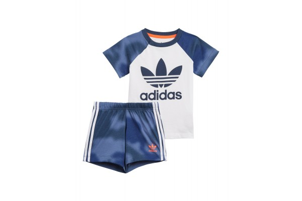 adidas Originals CAMO PRINT SHORTS &TEE SET GN4110 Πολύχρωμο