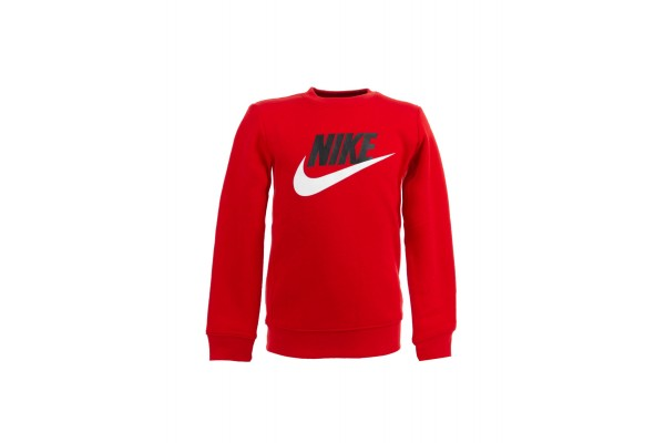 NIKE NKB CLUB HBR CREW 86G705-U10 Red