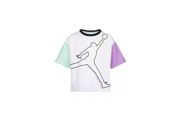 JORDAN J'S ARE FOR GIRLS TEE 45A575-001 Λευκό
