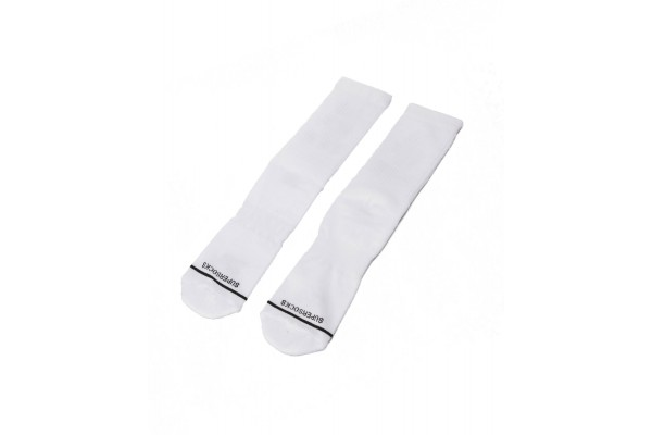 BEE UNUSUAL MT INK S.E. POWER GAME UNISEX SOCKS AS-9963-WHITE Λευκό
