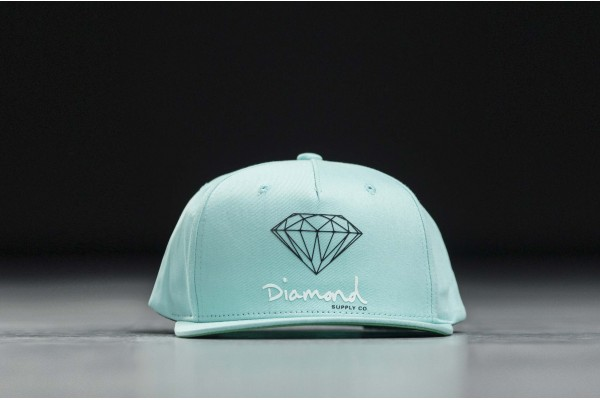 DIAMOND SUPPLY OG SIGN SNAPBACK-CORE DIAMZ18DMHA002CI-DBLU Μπλε