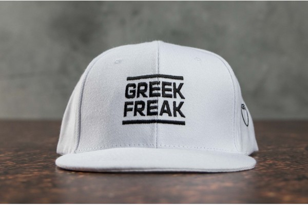 GSA X GREEK FREAK ORIGINAL PERFORMANCE HAT 34-17011-02 Λευκό
