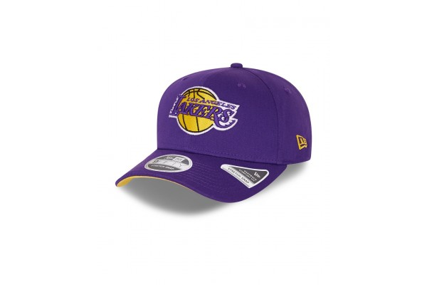 NEW ERA TEAM COLOUR 9FIFTY STSP LOS ANGELES LAKERS 60137571 Μωβ