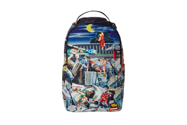 SPRAYGROUND STREET FIGHTER B2715 Πολύχρωμο