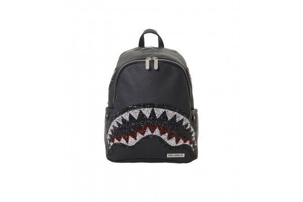 SPRAYGROUND TRINITY 2.0 SHARK BLACK SAVAGE B3664 Μαύρο