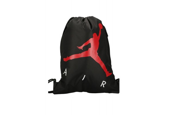JORDAN AIR DRAWSTRING GYM SACK 9A0502-023 Μαύρο