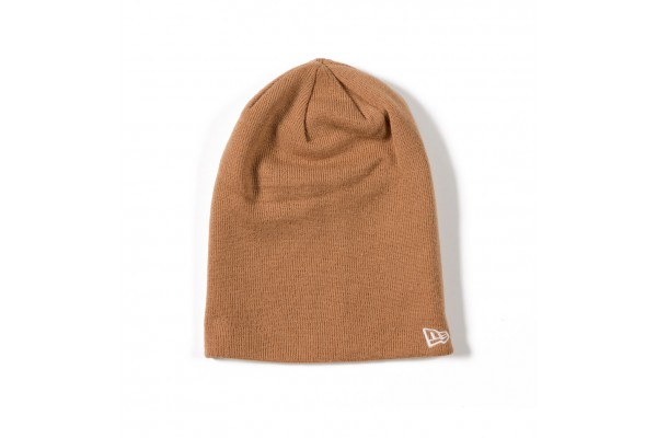 NEW ERA ESSENTIAL LONG KNIT 11794796 Μπέζ
