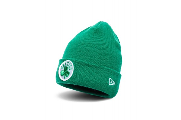 NEW ERA TEAM CUFF KNIT BOSTON CELTICS 12040222 Πράσινο