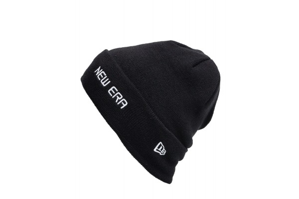 NEW ERA NE ESTL CUFF KNIT NE 12134755 Λευκό-Μαυρο