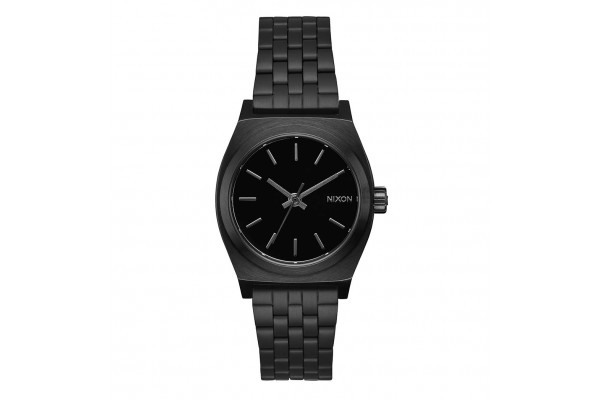 NIXON TIME TELLER MEDIUM ALL BLACK A1130-001-00 Ο-C