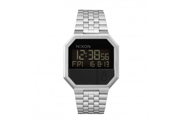 NIXON THE RE-RUN BLACK A158-000-00 Ο-C