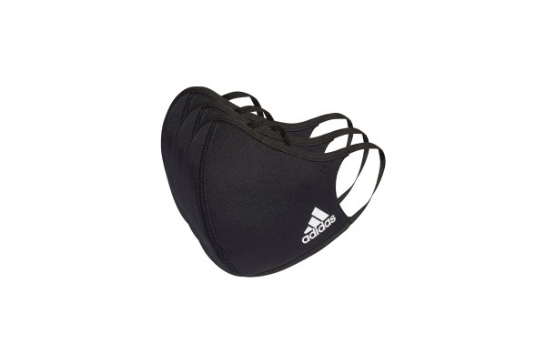 adidas Performance FACE COVERS M/L 3-PACK H08837 Black