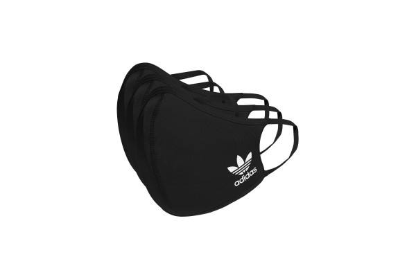 adidas Performance FACE COVERS M/L 3-PACK HB7851 Black
