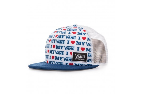 VANS WM BEACH BOUND TRUCKER VA31SIUWF-UWF Λευκό