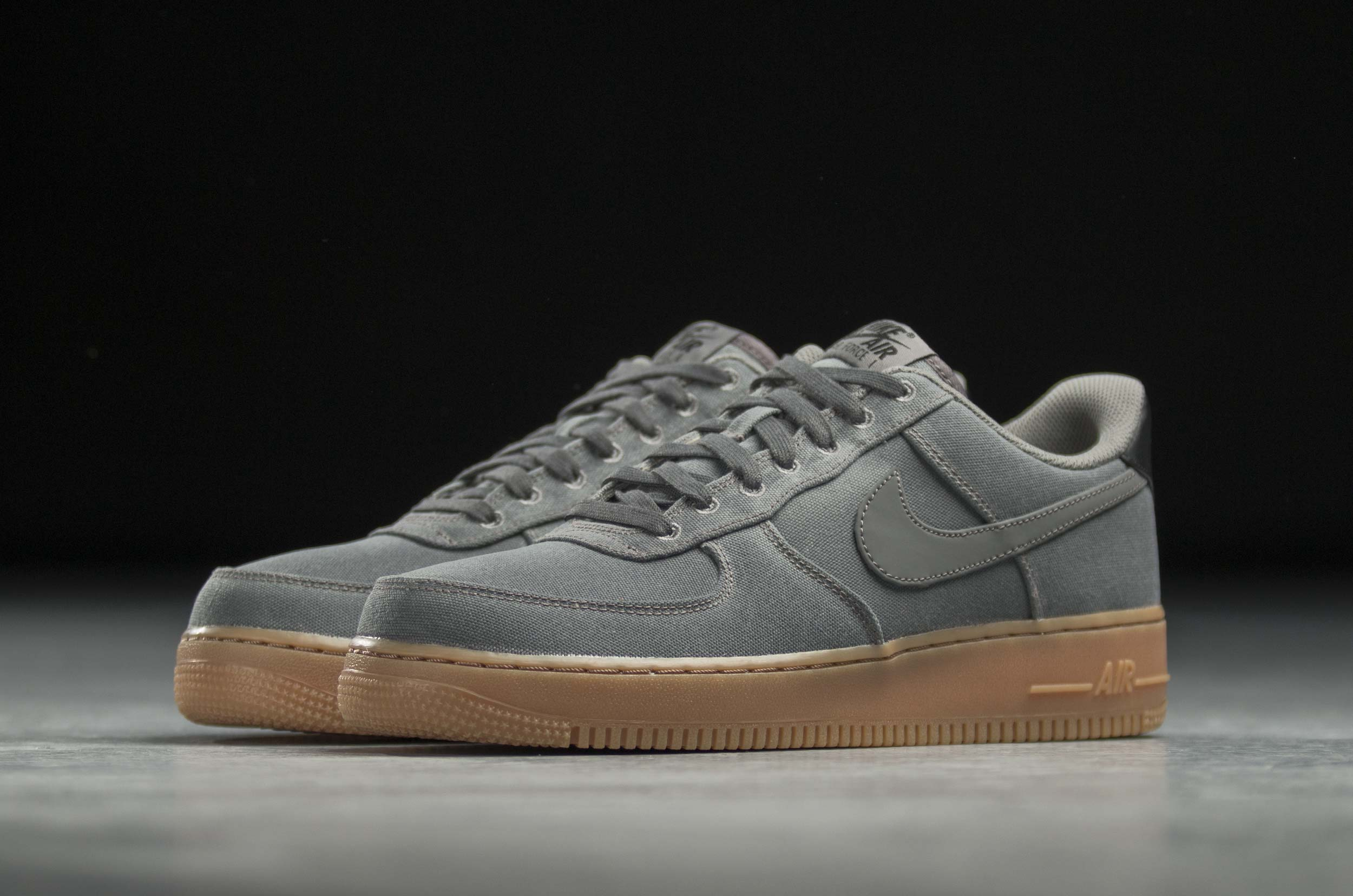 NIKE AIR FORCE 1 '07 LV8 STYLE AQ0117-001 Ανθρακί