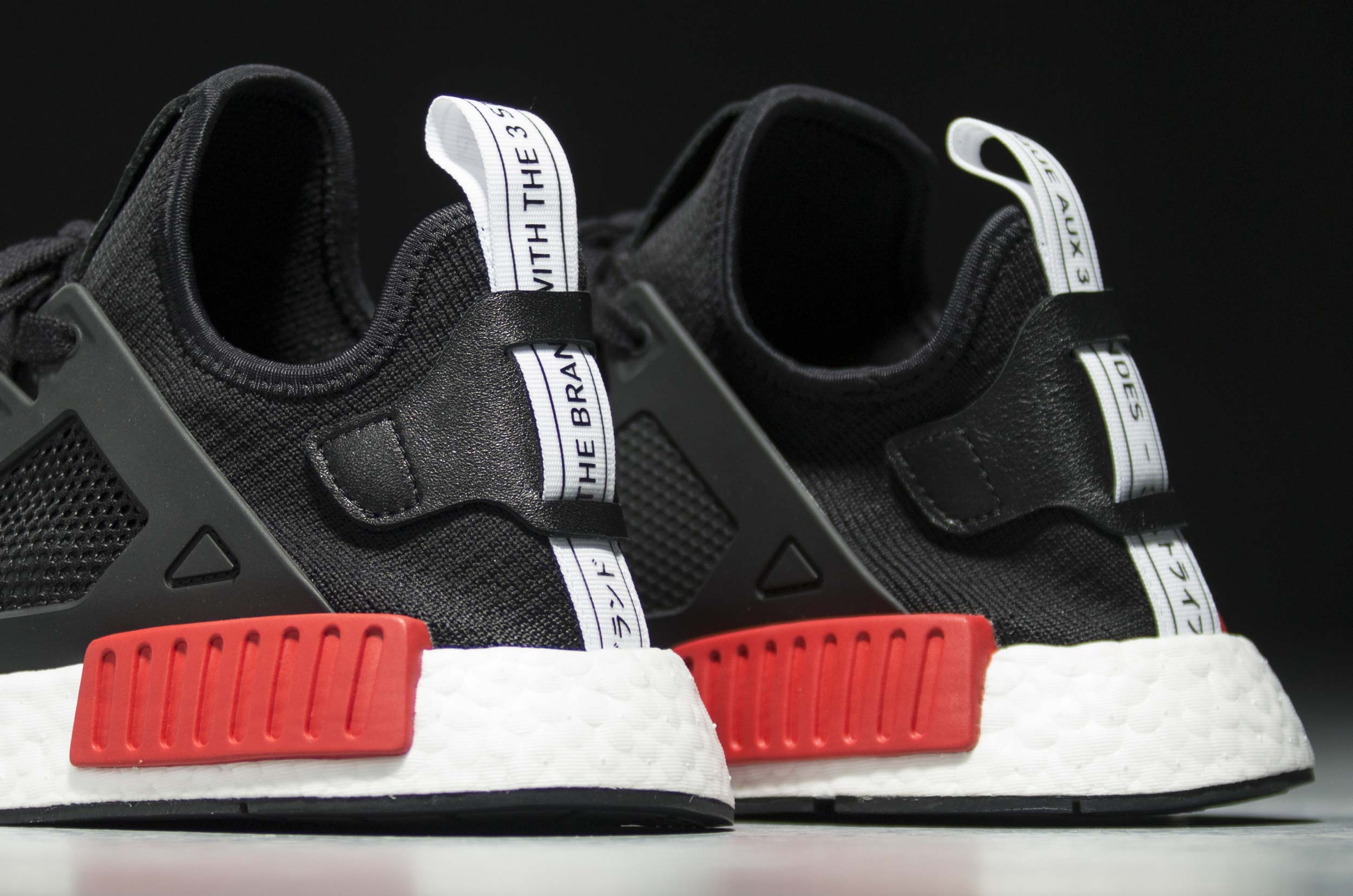 Adidas NMD XR1 PrimeKnit OG Core Black Blue Red BY1909 PK Sz