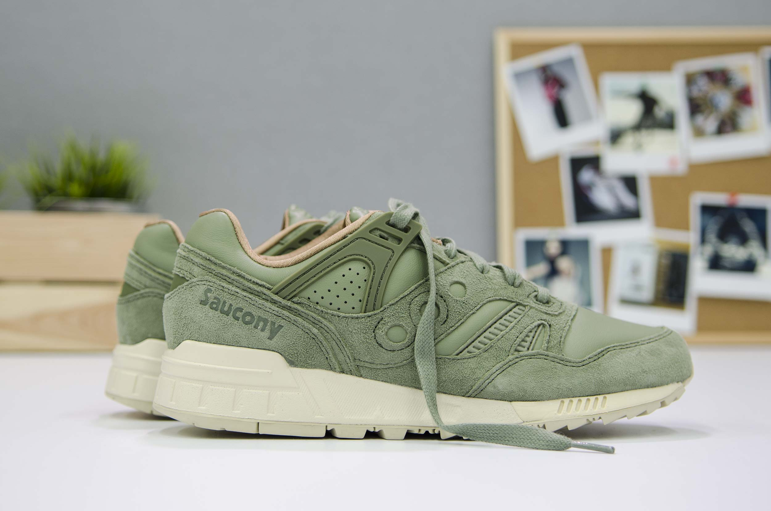 SAUCONY GRID SD S70263-2 Χακί
