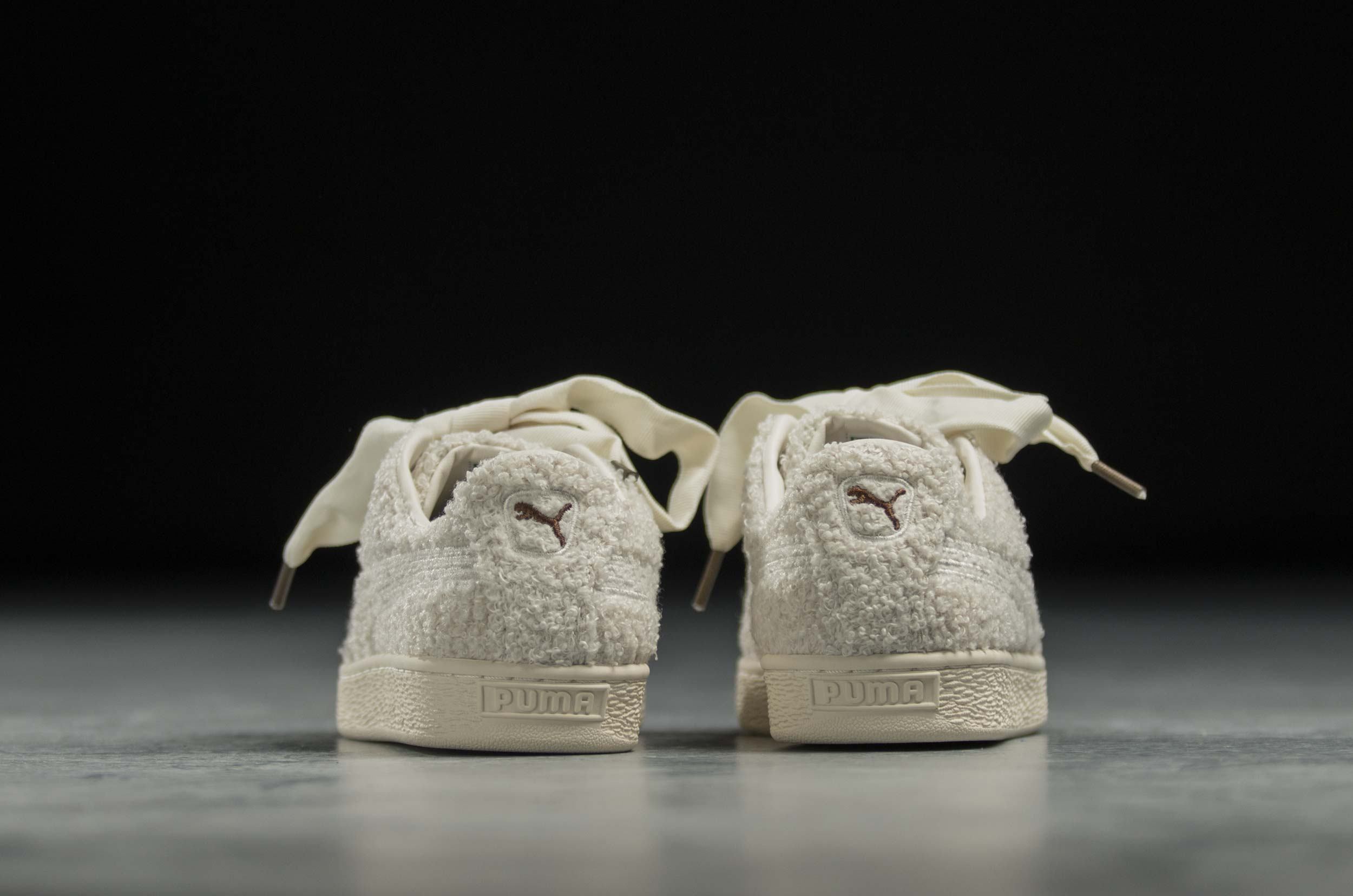PUMA BASKET HEART TEDDY WNS 367030-01 Λευκό