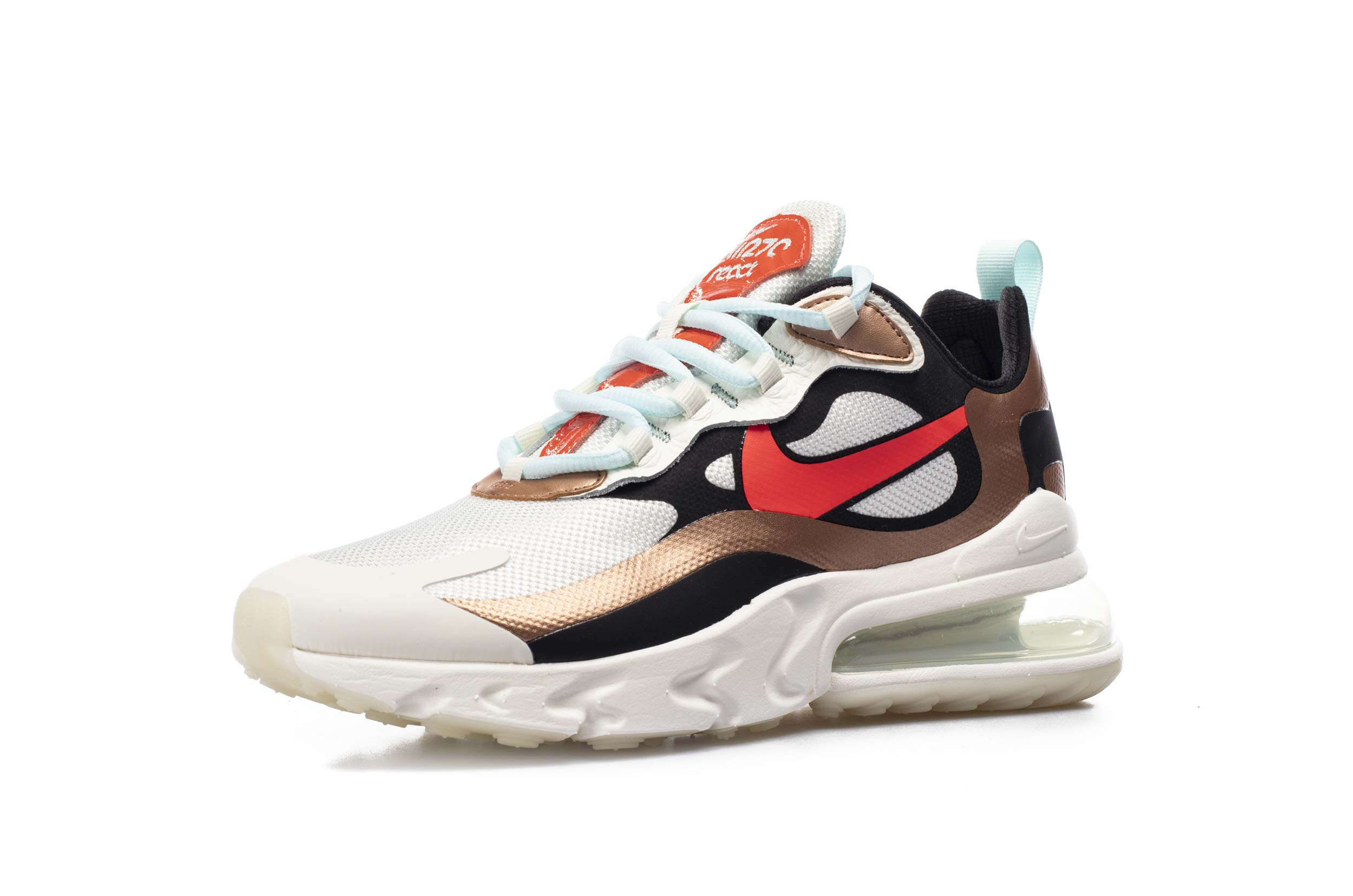 NIKE AIR MAX 270 REACT CT3428-100 Πολύχρωμο