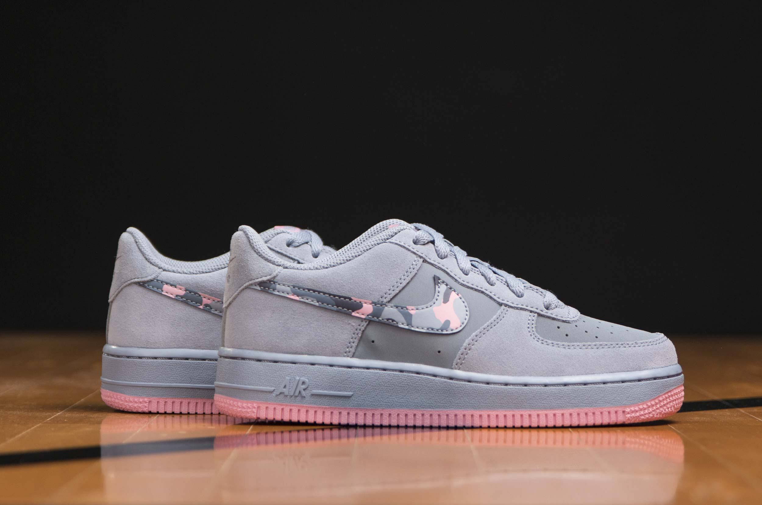 NIKE AIR FORCE 1 GS 596728-408 Μωβ