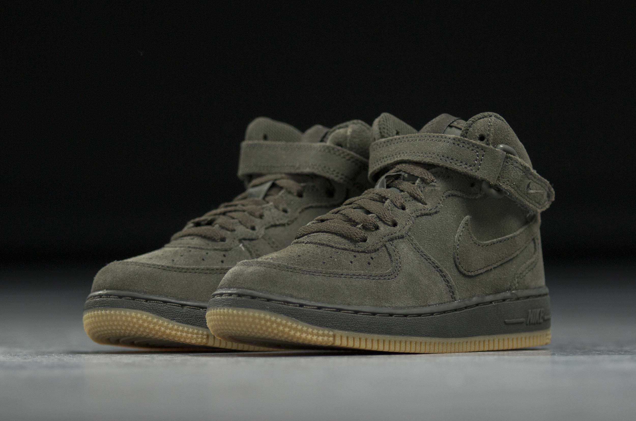 NIKE FORCE 1 MID LV8 PS 859337-300 Χακί