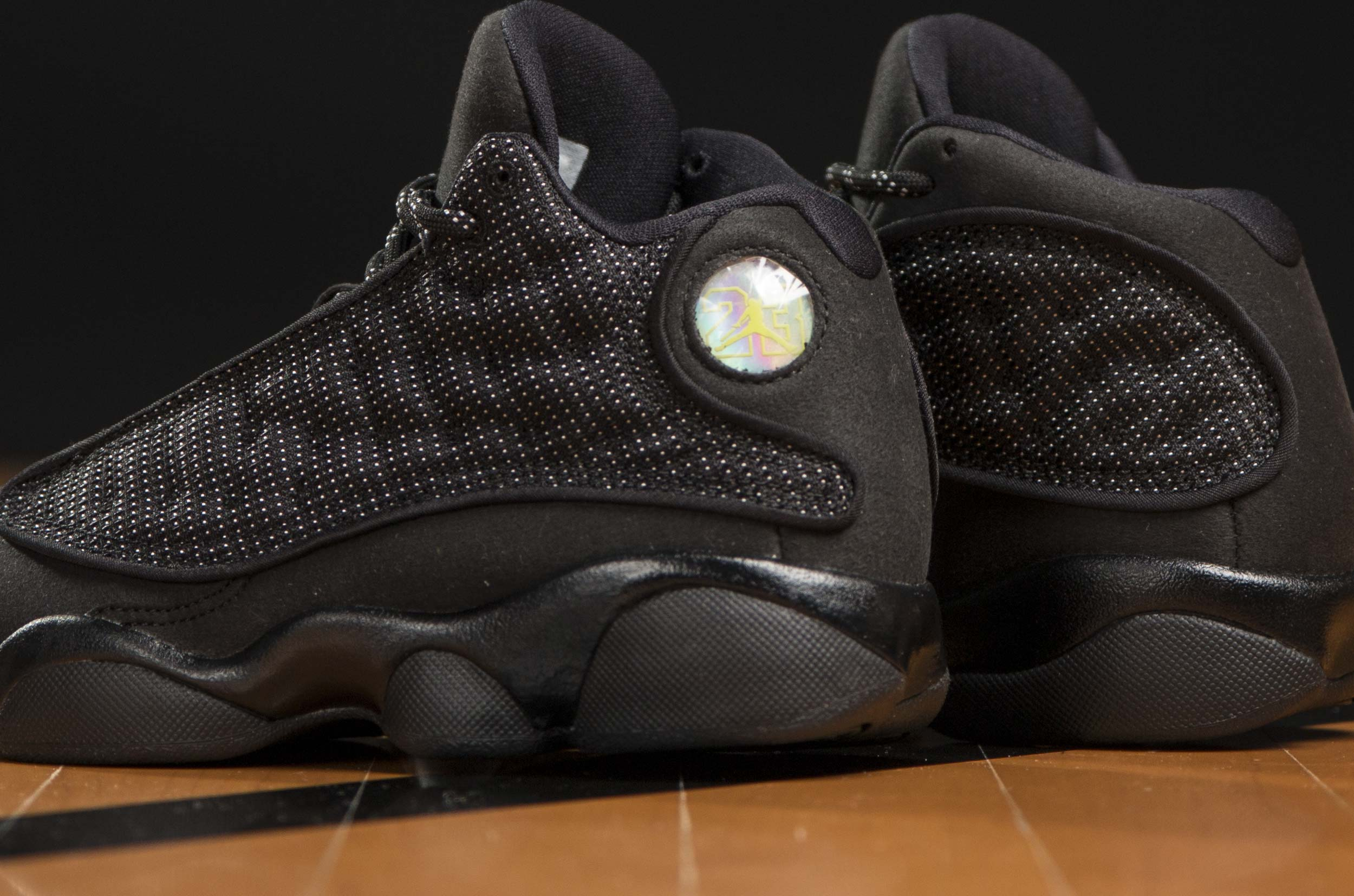 JORDAN 13 RETRO TXT BP PS 916907-011 Μαύρο