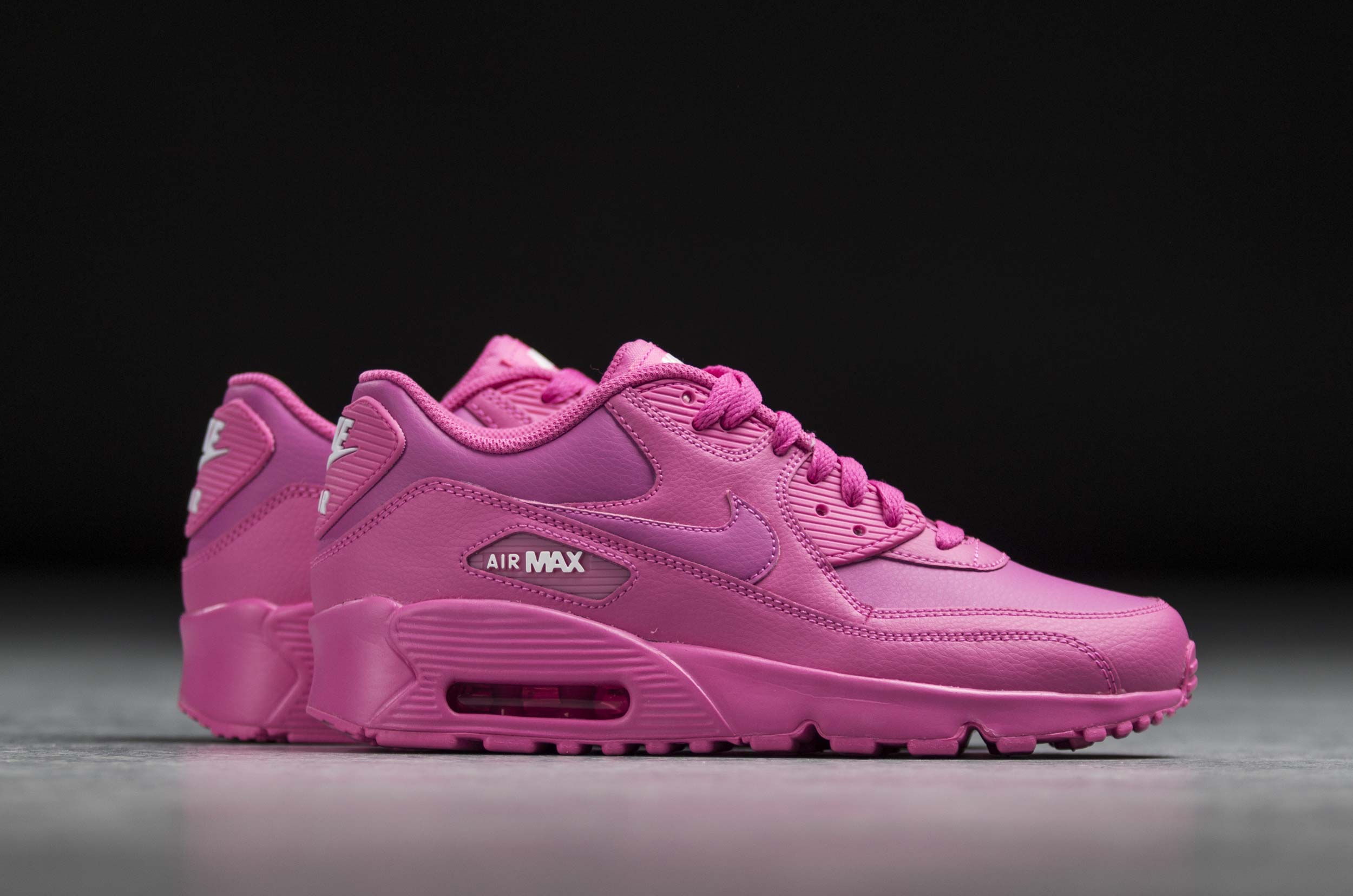 NIKE AIR MAX 90 LEATHER GS 833376-603 Φούξια