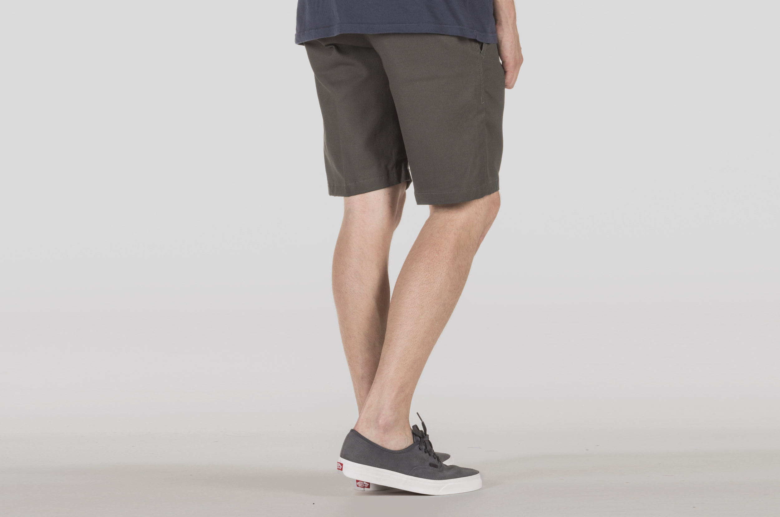 DICKIES COTTON 873 SHORT CT873S-CHARCOAL GREY Ανθρακί