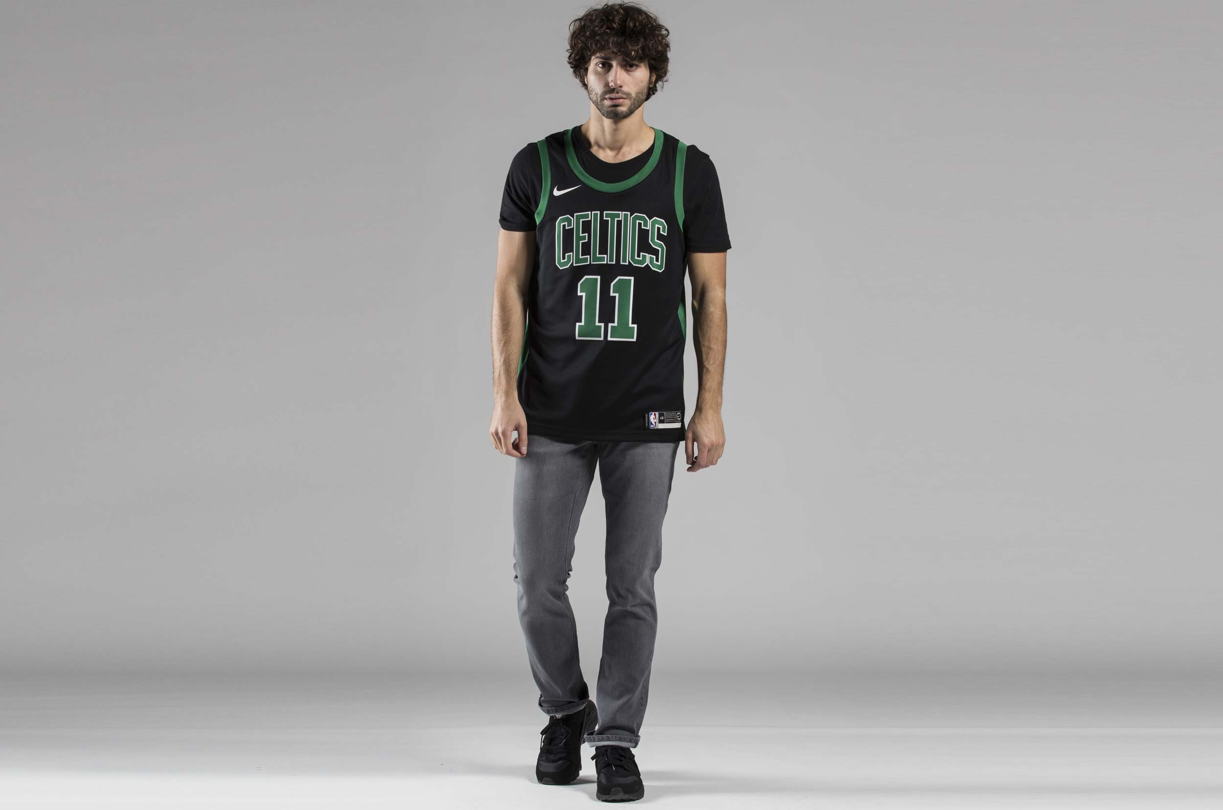 NIKE STATEMENT EDITION SWINGMAN JERSEY BOSTON CELTICS 877198-014 Μαύρο