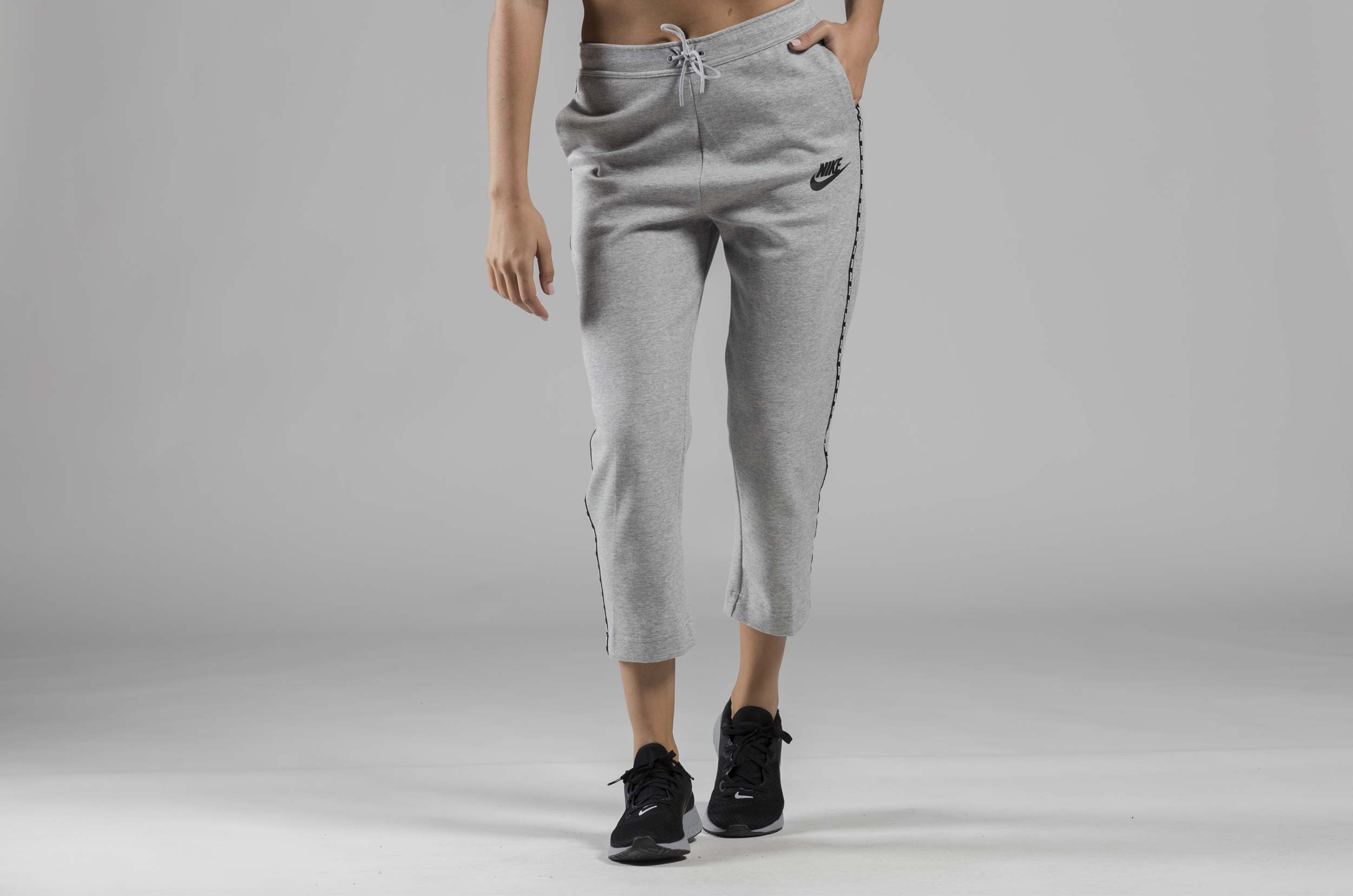 NIKE W NSW OPTC SNKR PANT 931864-021 Ανθρακί
