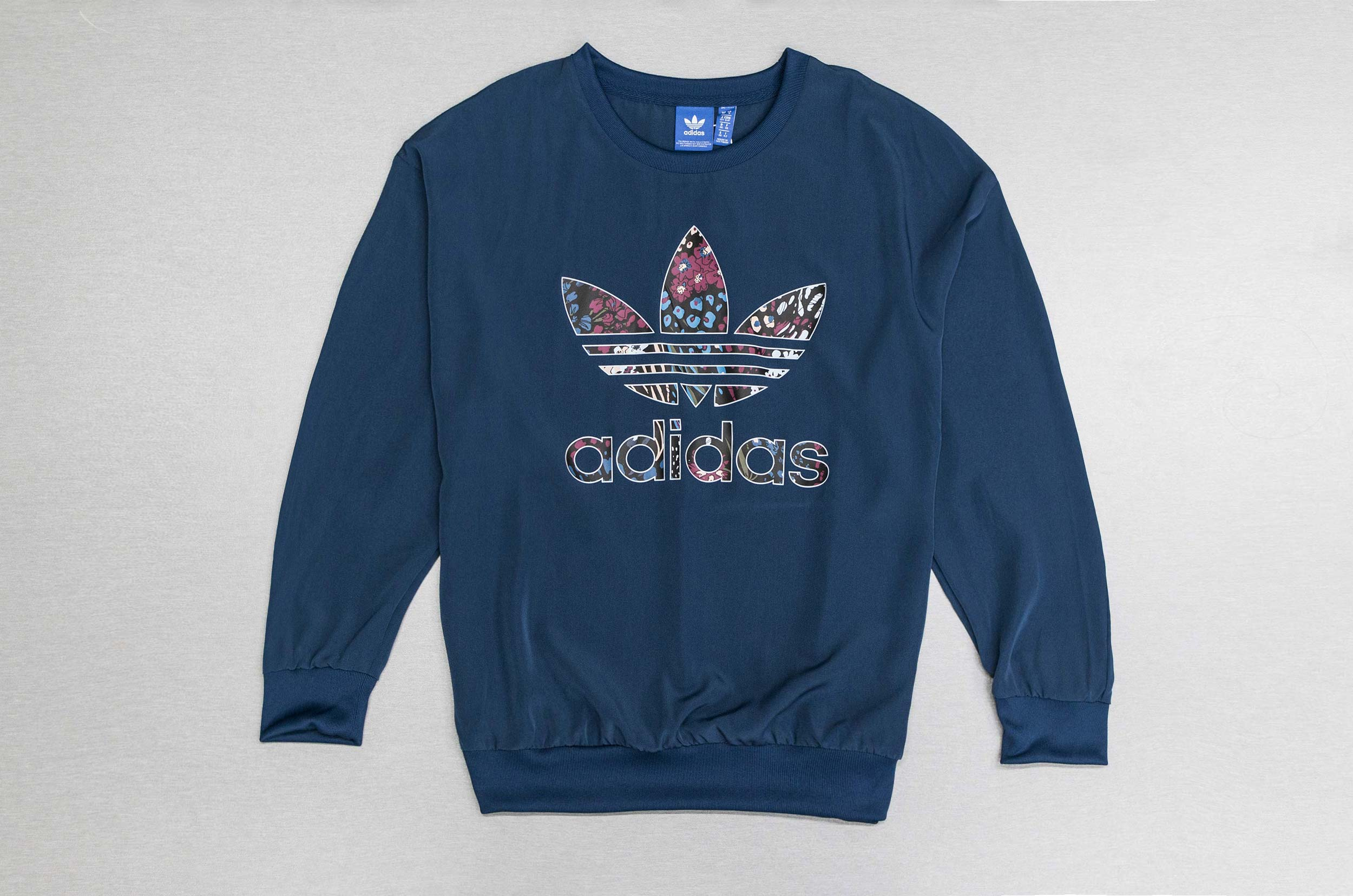 adidas Originals TRF SWEAT AY8400 Πετρόλ