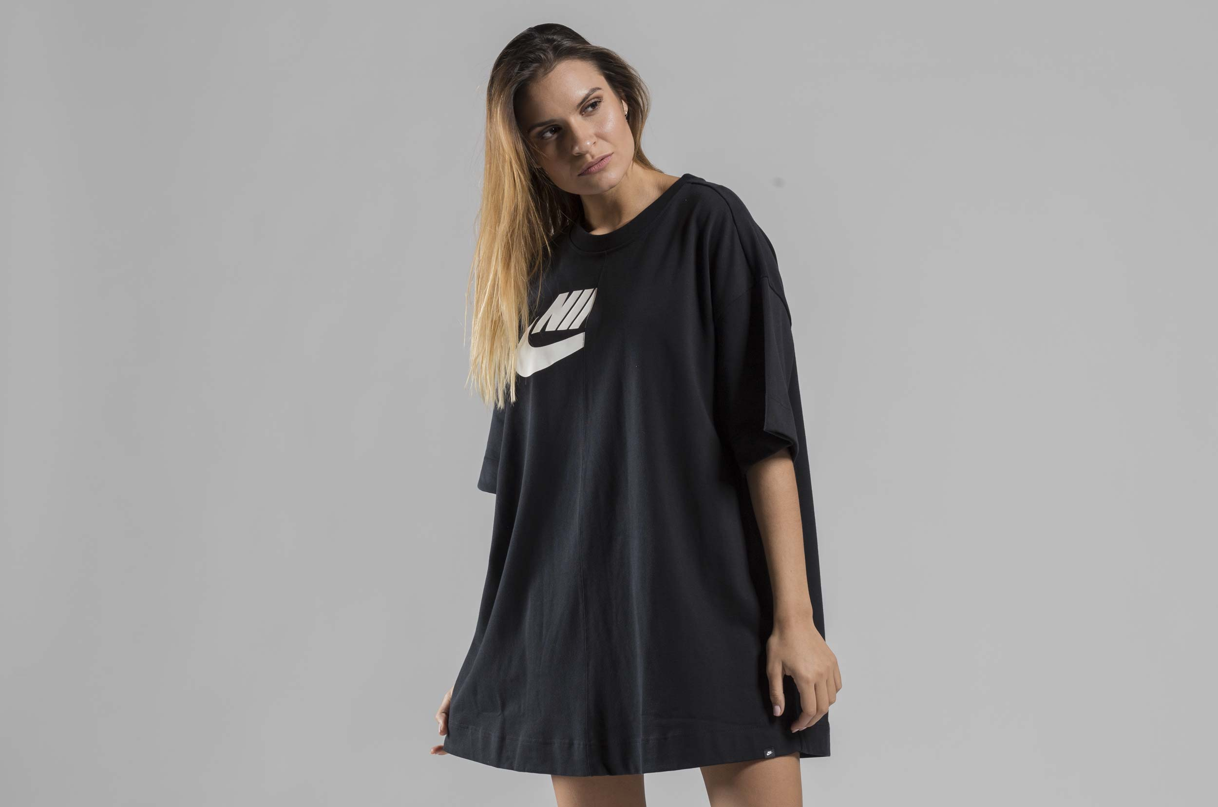 NIKE W NSW ESSNTL DRESS GX AH8186-010 Μαύρο