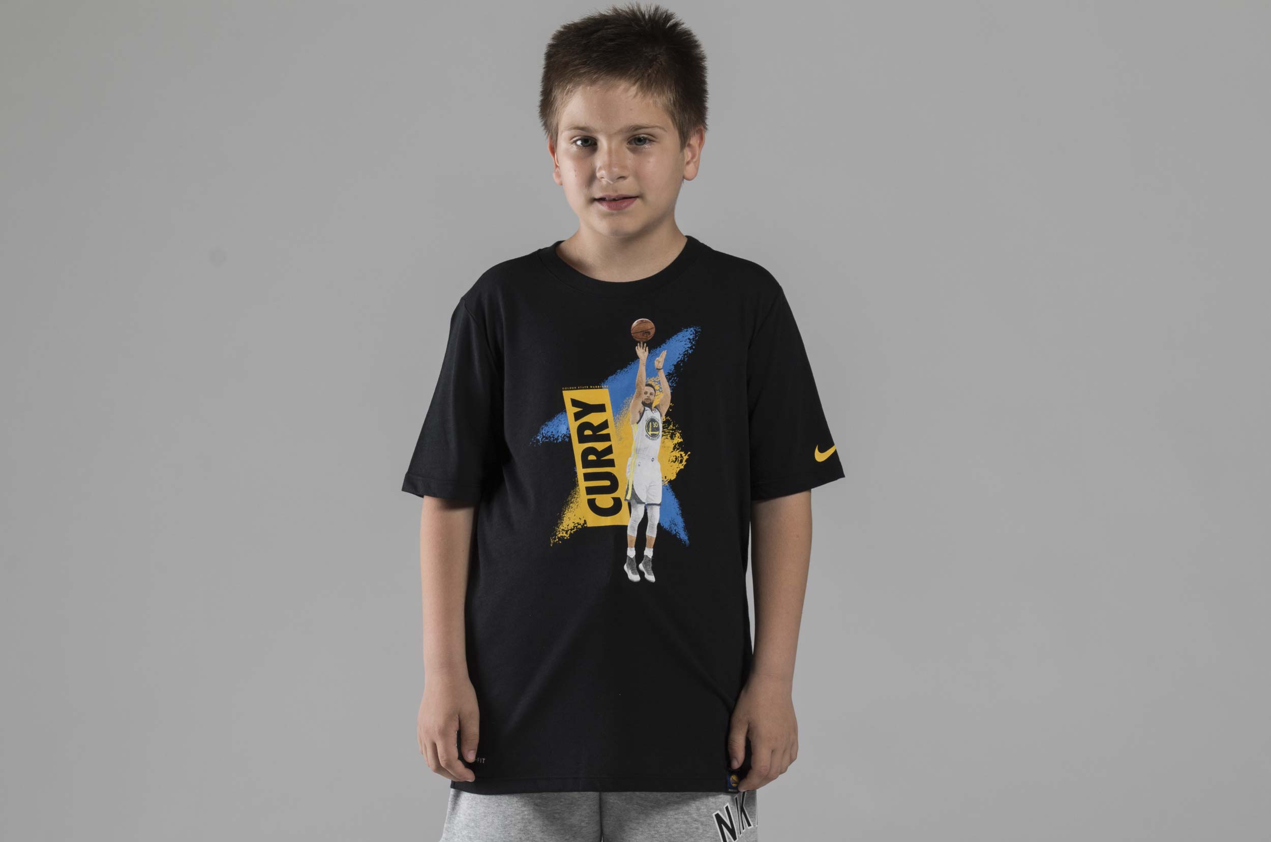 NIKE EXP MEZZO PLAYER S/S TEE EZ2B7BAYS-WARRIORS Μαυρο