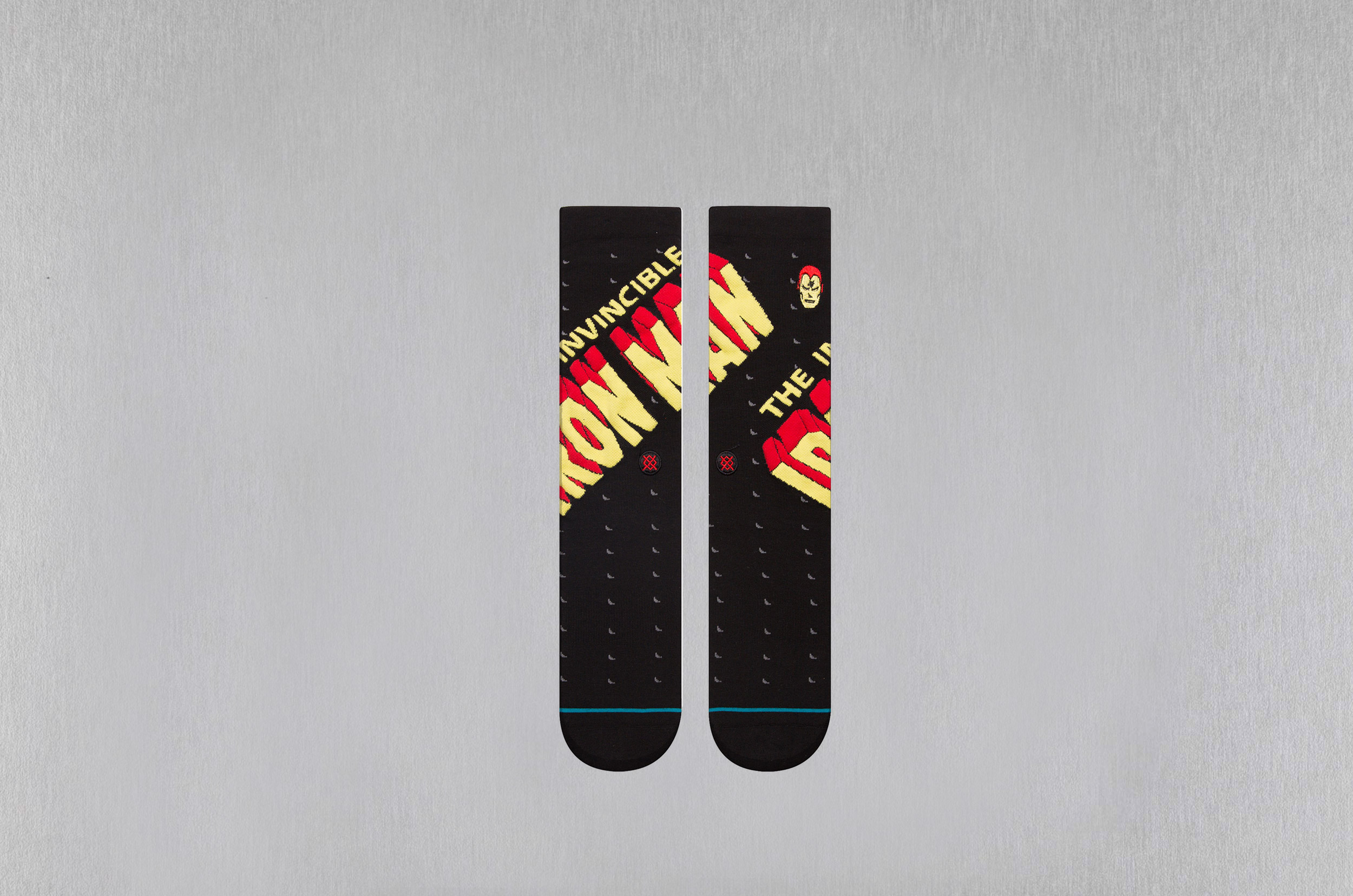 STANCE INVINCIBLE IRON MAN 62518FO059M M546D18INV-BLK Μαύρο