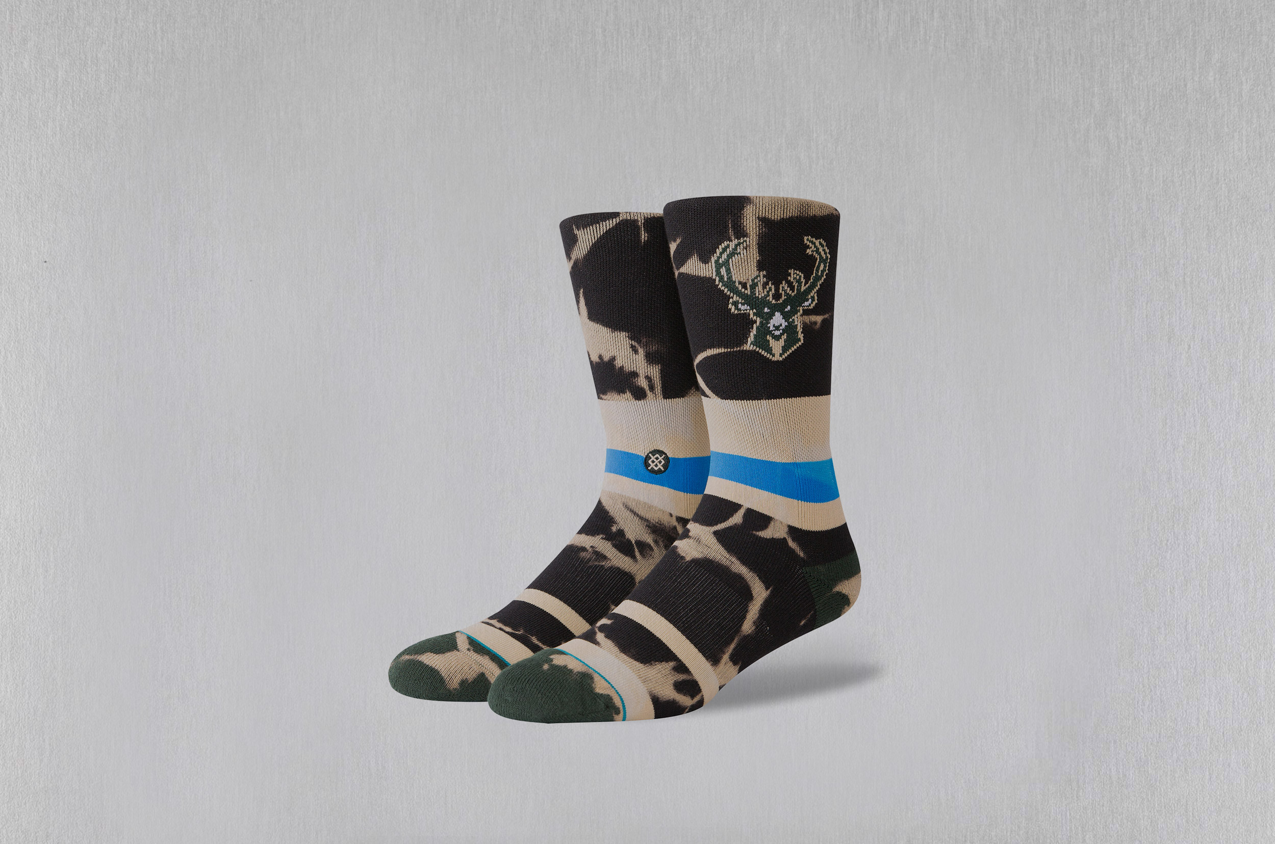 STANCE BUCKS ACID WASH 62518NB095 M558C18BUC-GRN Πολύχρωμο